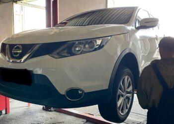 Переобувка на новую летнюю резину Nissan