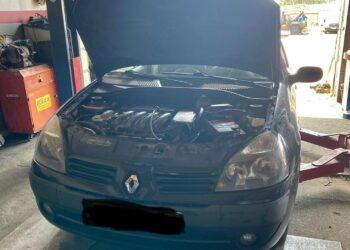 Диагностика Reno Clio потеря мощности в Запорожье