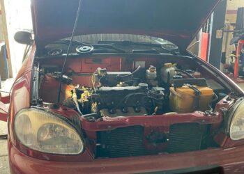 Диагностика автомобиля Lanos 1.5 потеря мощности