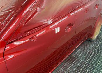 Покраска авто Mazda на AST service