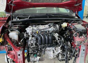 Установка силового агрегата Toyota