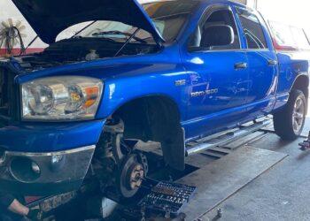 Ремонт ходовой части Dodge на AST service